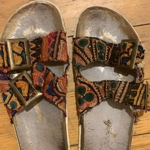 Free People sandals! Bohemian, worldly, beautiful